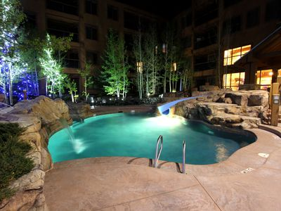 Photo for NEW LISTING: Luxurious 2BR Condo sleeps 6. Next to lift. Heated Pool & Hot Tub