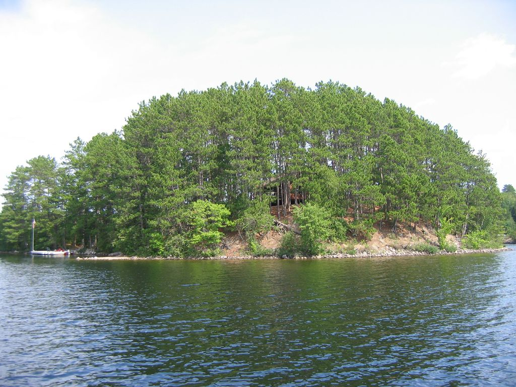 Private Island On Beautiful Burntside Lake Ely Minnesota