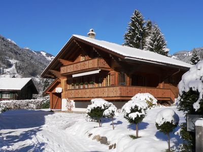 Photo for Your private luxury chalet in the Jungfrau region