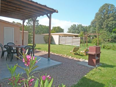 Photo for F3 quiet with large garden, air conditioning, wifi and barbecue