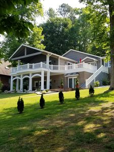 Photo for Amazing home w/ great view, boat house w/ top deck, deep water, & Splash Island