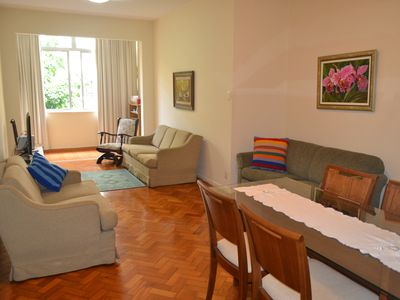 Photo for Excellent apartment in Flamengo