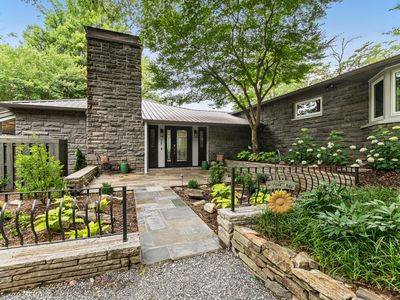 Photo for New Listing! Luxury family retreat in downtown, overlooking the Smoky Mountains!