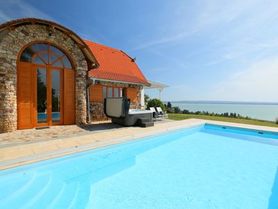 Photo for Abrahamhegy Holiday Home, Sleeps 6 with Pool and WiFi