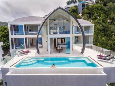 Photo for Luxury Sky Dream Villa with pano Seaview
