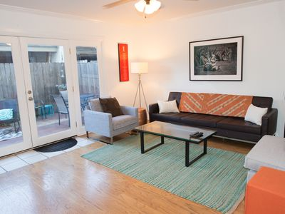 Photo for Updated, Bright Northwest Hills Town Home