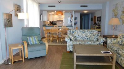 Photo for Oceanfront Beach Cottage Condo