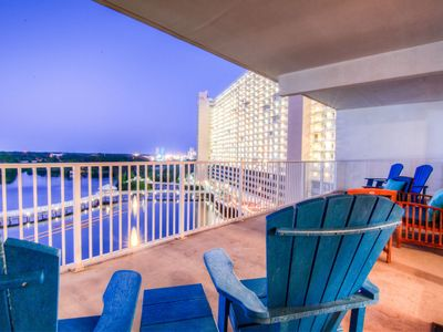 Photo for Large 3 BD Condo In Laketown Wharf 733 , Best Amenities, Great Location