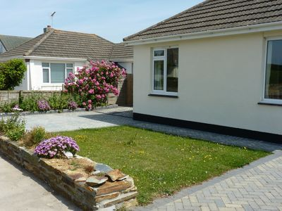 Photo for Modern Bungalow With Country Views, 5 minutes walk from Widemouth Beach