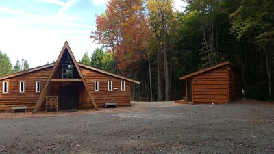 Photo for Peaceful cabin getaway close to Ellicottville and Holimont.