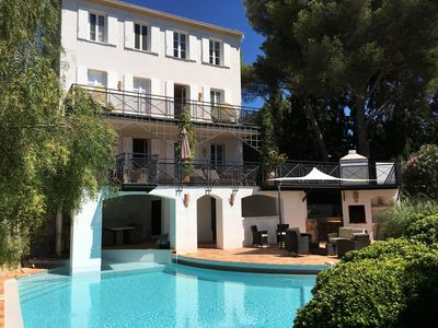 Photo for House with character near St tropez, Sea View, Cavalaire sur mer