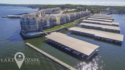 Photo for FIRST CLASS UPGRADE - Ledges Point Walk-In w/ MainChannel View, Wi-Fi, Boat Dock