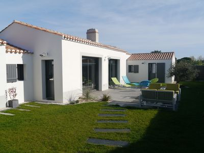 Photo for Noirmoutier, Le Vieil, brand new comfortable house, 250 m from Mardi-Gras beach