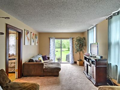 Photo for Depew Apartment w/Yard - 35 mins to Niagara Falls!