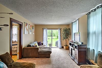 Escape to this 3-bedroom, 1-bath vacation rental apartment in Depew!