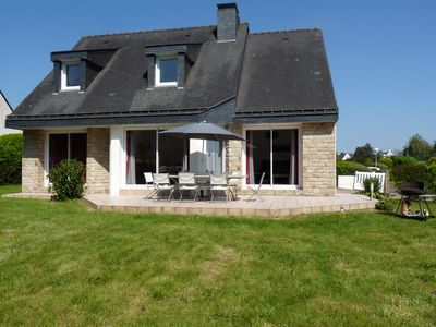 Photo for CARNAC: spacious and bright house with enclosed garden, 3 *, near the Menhirs