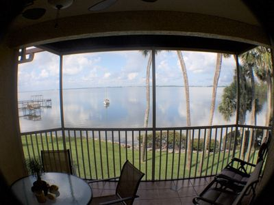 Photo for Morning Coffee With The Indian River Lagoon