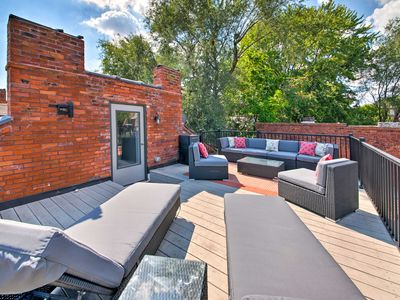 Photo for NEW St. Louis Townhome w/Rooftop Deck- 8 Min to DT