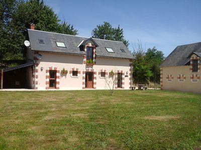 Photo for La Gavaudiere is situated in its own 19 acres of land surrounded by woodland .
