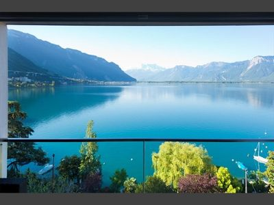 Photo for Apartment Vacation Rental in Montreux, VD