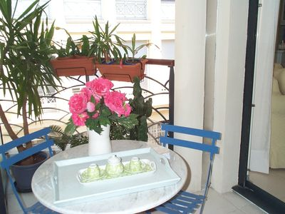 Photo for Superb 1 bedroom apartment of 40m2, Internet, air condition, in Nice.