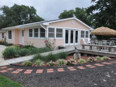Photo for Kent Island Beach House - Chesapeake Bay Beach Volleyball & Walk to Tiki Bar!