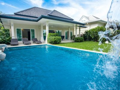 Photo for Victoria - Large villa with 2 bedrooms garden private pool view forest quiet