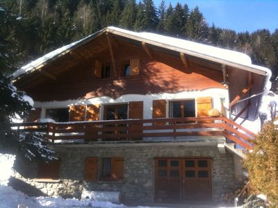 Photo for Vast and very comfortable chalet at Mont Blanc