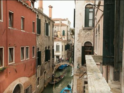 Photo for Balcony on the Venetian panorama canal