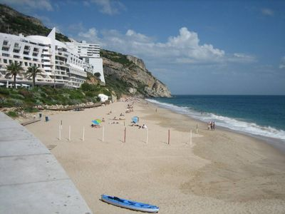 Photo for Villa In Sesimbra with garden by Beach With Sea & Castle Views