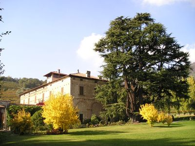 Photo for Luxury apartment in historic mansion in Franciacorta