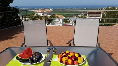 Photo for Apartment in Monte Pego with private terrace of 300 m2 and sea view
