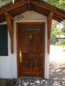 Our craftsman style main entrance.