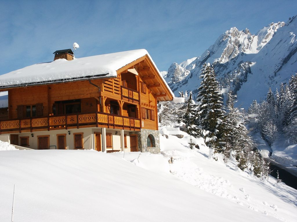 location chalet ski clusaz