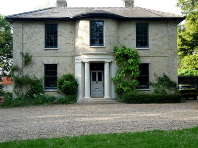 Photo for Listed Georgian Vicarage with heated outdoor pool and huge garden