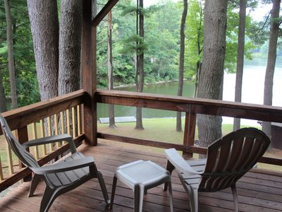 Photo for Beautiful Lakefront Home on Goodyear Lake Centrally Located Cooperstown/Oneonta