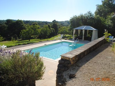 Photo for Dordogne house in delightful Valley with Private Pool  contact for special rates