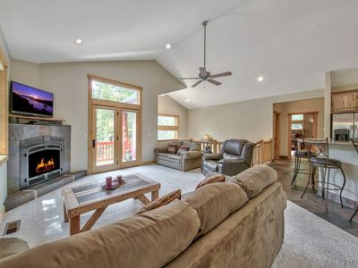 Photo for Spacious home close to Heavenly & Golf Courses with large backyard