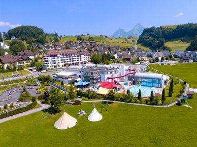 Photo for Apartment Swiss Holiday Park in Morschach - 8 persons, 3 bedrooms