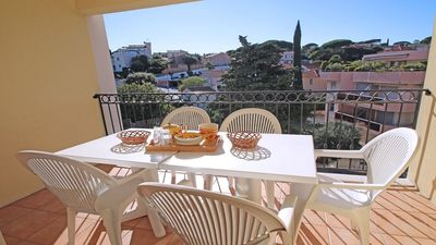 Photo for Apartment T4 - 6 people - Air conditioning - WiFi - Swimming pool residence - Sainte Maxime