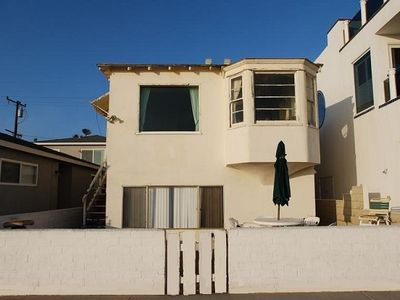 Photo for Renovated Oceanfront Cottage - Walk to the Newport Pier - Amazing Beach Views