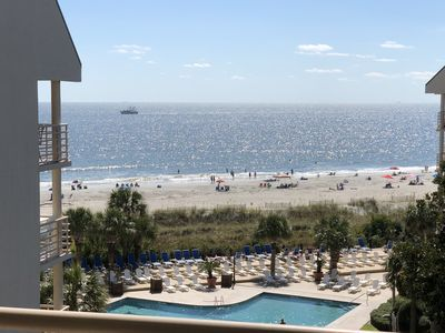 Photo for Save $$$ discounted rates Apr-May, Villamare -Ocean Front- Palmetto Dunes