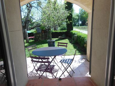 Photo for cottage in the countryside 3p at 4km Vaison la romaine