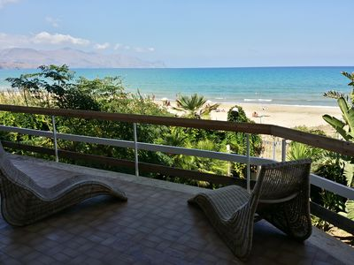 Photo for VILLA Ursuline - 5 meters from the beach
