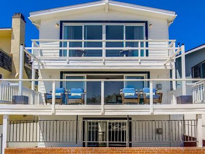 Big Beautiful Ocean Front House On Mission Beach!