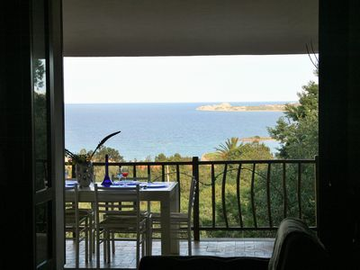 Photo for Super panoramic apartment in Costa Smeralda