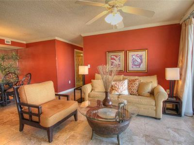 "Photo for Beautifully decorated ocean view condo with all the comforts of ""home""!"