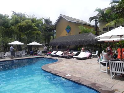 Photo for Flat in Ilhabela Luxurious beachfront resort sea