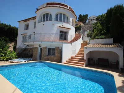 Photo for El Atarceder-6 - sea view villa with private pool in Benissa