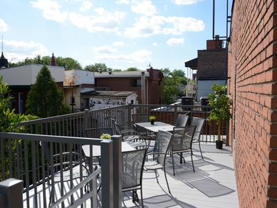 Photo for Top Floor - Huge Sunny Terrace - Perfect for Gatherings - 95% Walk Score!